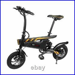 7.8Ah Electric Bike Scooter Folding Commuter 45KM Range 42V 300W Power Motor