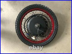 8000with72v Electric Bike Ebike Fat Tire Regular Tire Conversion Kit MOTOR 19 Rim