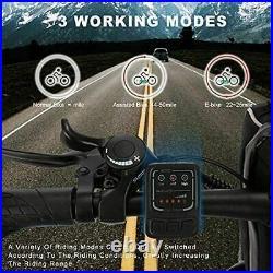 Assist E-Bike 26 Inch Folding Electric Bicycle Mountain Bike 350W Motor Commuter