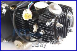 Atv Pit Bike Fully Auto 110cc Electric Start Motor Bottom Mount Starter Carb CDI