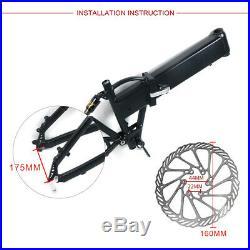 BAFANG 48V 750W Fat Tire Electric Bike Rear Wheel Hub Motor Conversion Kit