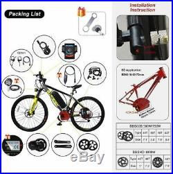 BAFANG BBS02B 8fun 48V 750W Mid Dirve Motor Conversion Kits DIY Electric Bike