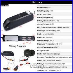 BAFANG BBSHD 48V/52V 1000W Mid Motor Kits Electric Bike Components Crank BB 68mm