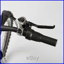 Black TDL6118 Folding Electric Bike 36V 10AH Lithium Battery 250W Motor MTB