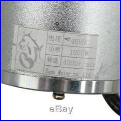 Brushless Motor Controller Throttle Grip Electric go-kart ATV 1800W 48V Bike