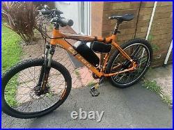 Carrera Vengeance Electric Ebike 1000 Watt Motor Stunning Bike