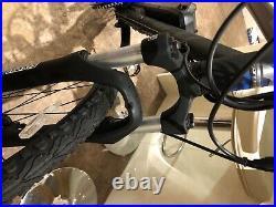 Custom built electric bike. Brand new carrera crossfire 2. 350w motor