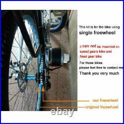 Deluxe Electric Bike Conversion Kit Refit Motor 22-28'' Controller DIY eBike