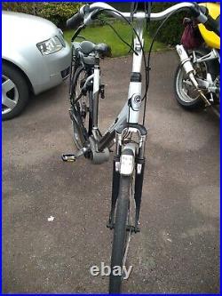 Dutch Gazelle electric bike Bosch crank motor. Nuvinci hub gears, magura brakes