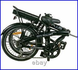 EBike City Folder 24v Folding Electric Bike 20 Black BRAND NEW