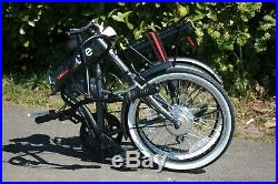 EBike Infusion 24v Folding Electric Bike 20 Grey MANUFACTURER REFURB
