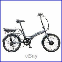 EBike Regency 6sp Electric Folding Bike 20 Black MANUFACTURER REFURBISHED