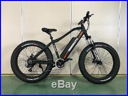 ELECTRIC FatBoy EBIKE Fat Tyre G-HybridMammoth 48v 500w Powerful motor BLack
