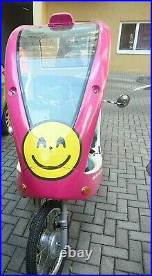 ELECTRIC RICKSHAW CAB, Two Seats, plus two fitted back batteries & pedal power