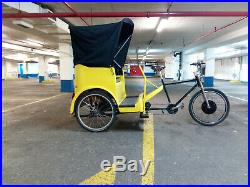 ELECTRIC RICKSHAW PEDICAB, 3 seater
