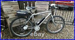 Ebike Kit Built Electric Mountain Bike Raleigh Max 26 In Wheel 250 Watt Motor