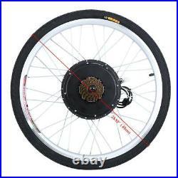 Electric Bicycle Kit 48V 1000W 26'' Rear Wheel E Bike Motor Conversion Hub