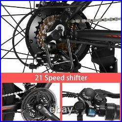 Electric Bike 26 inch Mountain Bicycle City Ebike 350W Motor Shimano 21 Speed uk