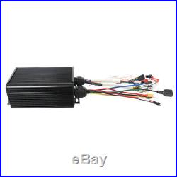 Electric Bike 48V 1500W Conversion Kit Rear Motor Wheel 20-29''/700C Bluetooth