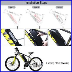Electric Bike Battery Pack 48V 36V 12Ah/17.5Ah built-in Samsung Cells Motor Kit