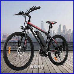 Electric Bike Electric Mountain Bike 26 inch Ebikes Adult bike 350W Motor E-MTB