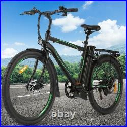 Electric Bike Mountain Bikes 26 inch Ebike 25km/h E-Citybike Bicycle Cycling 36V