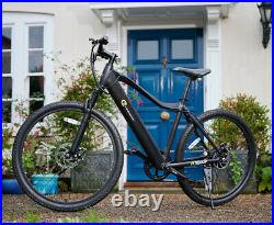 Electric Bike Trekker MTB Ebike 250W Motor Bicycle Black Alu Frame ETrends