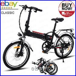 Electric Bikes 20 Folding E-Bike Commuter Bicycle Citybike 250W Motor Shimano A