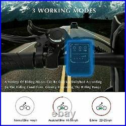 Electric Bikes 26 inch Folding E-Bike Mountain Bike 350W Motor Commuter Bicycle
