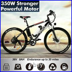 Electric Bikes Electric Mountain Bike 26 Ebike City-Bicycle Powerful Motor 350W