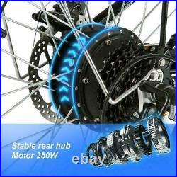 Electric Bikes Mountain Bike 20'' E-City-Bike Folding Bicycle E-bike 250W Motor