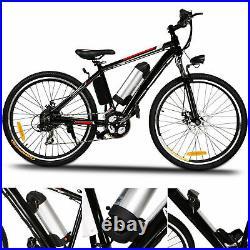 Electric Bikes Mountain Bike 26Ebike E-Citybike Bicycle 35km/h 250W Motor Adult