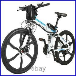 Electric Bikes Mountain Bike 26''E-Bike City Bicycle Ebike 35km/h 250W Motor UK