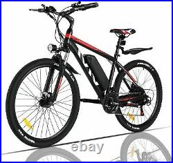 Electric Bikes Mountain Bike 26 Ebike 350W Motor E-Citybike Bicycle 21Speed 36V