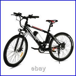 Electric Bikes Mountain Bike 26 Ebike Bicycle 250W City-Bicycle Cycling Motor
