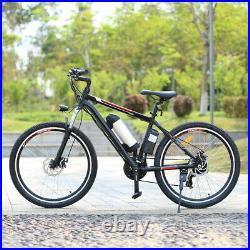 Electric Bikes Mountain Bike 26'' Ebike E-Citybike Bicycle 36V 35km/h 250W Motor