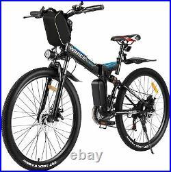 Electric Bikes Mountain Bike 26 Folding E-Bike SUP-Motor City-Bicycle Cycling