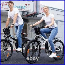Electric Bikes Mountain Bike 26 Folding Ebike Citybike Electric Bicycle 350W UK
