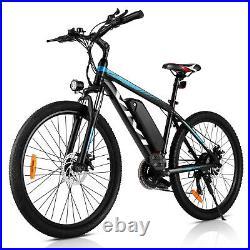 Electric Bikes Mountain Bike 26 Inch E-Bikes 36V 350W Motor City Bicycle 35km/h