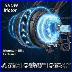 Electric Bikes Mountain Bike 26 inch Ebike E-Citybike Bicycle 350W Motor 35km/h