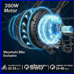 Electric Bikes Mountain Bike 26in E-Bikes 36V 350W Motor City Bicycle 35km/h UK