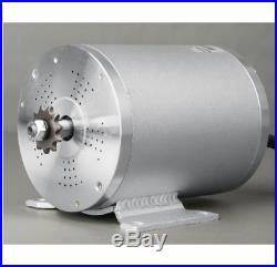 Electric Brushless Motor 2500W 60V DC For Bicycle Conversion Kit With Controller