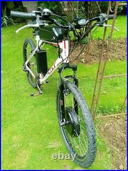 Electric bike with 48volt battery and 1000w motor