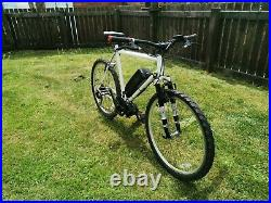 Electric bike with 750w bafang motor and 48v battery
