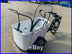 Electric cargo bike 15A battery hydraulic breaks hign torque motor assembled
