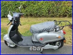 Electric scooter moped bike 850W 48V brushless motor LiFeP04/Li-ion 20AH battery