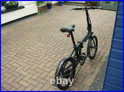 FIIDO D4S Folding Electric Bike 20 Inch Tyres 250W Motor 10.4Ah Lithium Battery