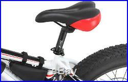 Fat Tyres White Electric Bike / E Bike / Mountain Bike & LG Cell Battery Pack