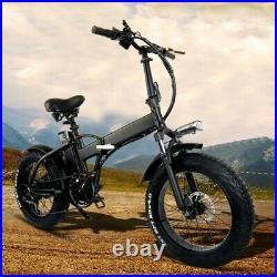 Fat tyre folding electric bike, POWERFUL 750w Motor, 48v 15AH Battery / 45kmph