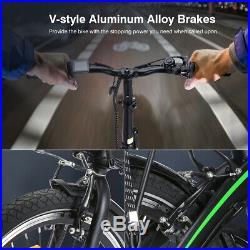 Folding Electric Bike EBike E-Bike Battery Mountain Motorized Bicycle 36V 250W
